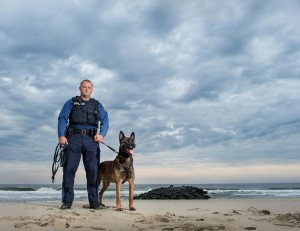Throw Away Dogs K9 Sting Explosive Detection Dog Bradley Beach, NJ